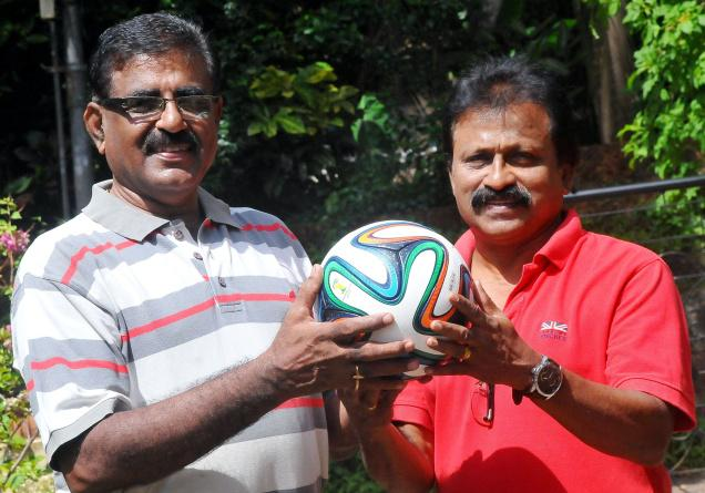Former Indian footballers K.P. Sethumadhavan and Premnath Philip discuss the many highs, and one particular low, of the World Cup in Brazil. PHOTO: K. RAGESH / The Hindu