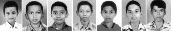Abhaykrishnan, Akhil Biju, Girikrishna, Muneer Mohammed, Shalef Shaji, Subin Mathew and Yadukrishnan