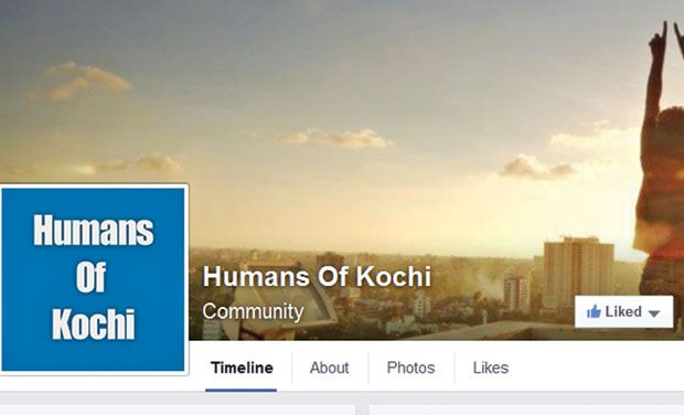 Facebook page of Humans of Kochi. (Photo: Facebook grab)