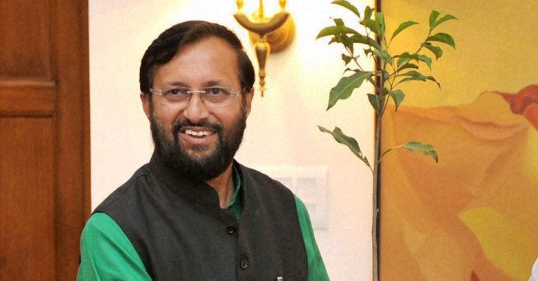 Union Minister for Environment and Forest Prakash Javadekar. File photo