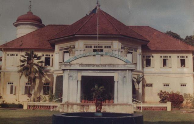The headquarters of the Southern Air Command, the fifth operational command of the Indian Air Force, in Thiruvananthapuram.