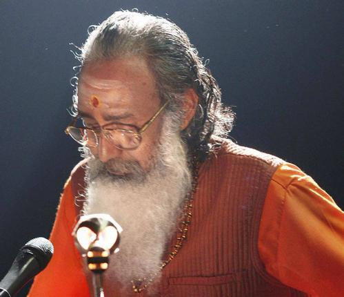 Thotta Tharani as Swami Chinmayananda. Photo: Special Arrangement