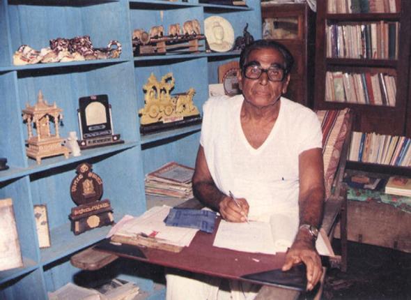 Work is my God: Kaiyyara Kinhanna Rai worked tirelessly and did not lose hope till his end Photos: courtesy family album