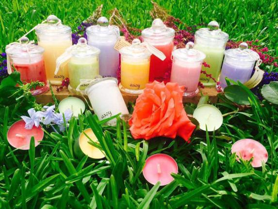 Asoy Candles / Photo: Special Arrangement / The Hindu