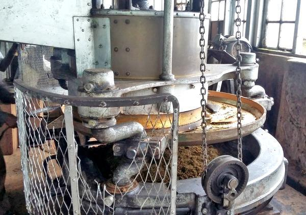 The equipment still in use at the Kolukkumalai tea factory in Idukki are those installed by the Britishers